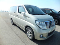 FRESH IMPORT LATE 2004 FACE LIFT NISSAN ELGRAND V6 AUTOMATIC VG EXECUTIVE