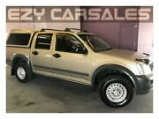 2005 Holden Rodeo RA MY05.5 Upgrade LX Gold 4 Speed Automatic Crew Cab Pickup Albion Park Rail Shellharbour Area Preview