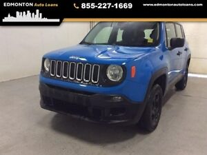 2015 Jeep Renegade SPORT TEXT APPROVED 780-907-4401