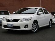2012 Toyota Corolla ZRE152R MY11 Ascent Sport White 4 Speed Automatic Sedan Glen Iris Boroondara Area Preview