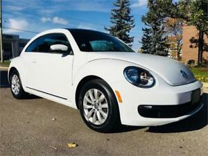 2014 Volkswagen Beetle Highline 2.0 TDI With Sky View S Roof