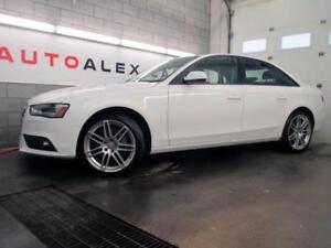 2014 Audi A4 **48, 000KM** QUATTRO TOIT OUVRANT MAGS