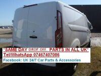 2013 Breaking TRANSIT CUSTOM TOURNEO MK8 compressor door caliper gaiter gear stick airbag wiper moto