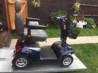 Any Terrain 22 Stone Capacity Sterling Sapphire Mobility Scooter Fast Fully Adjustable Only £390