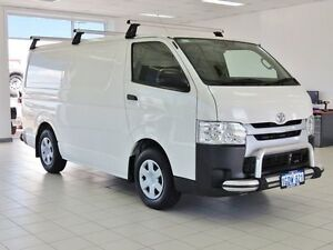 2014 Toyota Hiace KDH201R MY14 LWB White 4 Speed Automatic Van Morley Bayswater Area Preview
