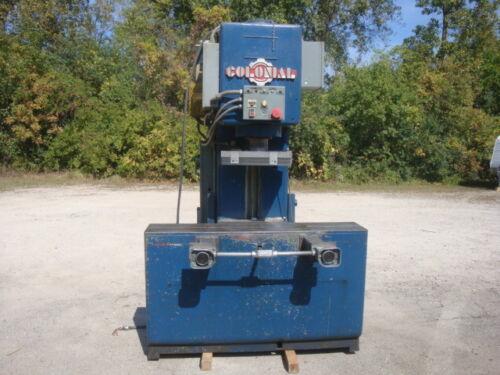 Colonialbroach  20 Ton Hydraulic Straightening Gap Frame Press Model Ps20-12