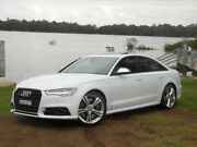 2015 Audi S6 C7 Tfsi 4gl White Automatic Sedan Lansvale Liverpool Area Preview