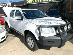 2014 Holden Colorado RG MY14 LX Crew Cab 4x2 White 6 Speed Sports Automatic Utility Maidstone Maribyrnong Area Preview