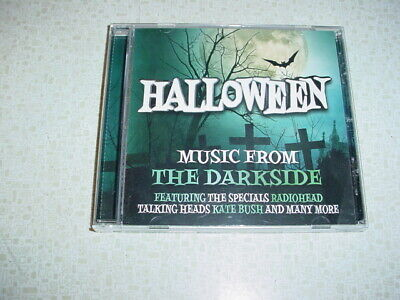 CD Various ‎Halloween Music From The Darkside Radiohead Television Alice Cooper  - Halloween Music Cd