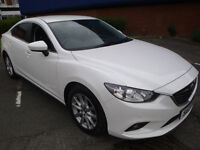 "13 MAZDA 6 2.2D ( 150ps ) ( NAV ) SE-L (NAV) """"£20 A YEAR ROAD TAX"""""