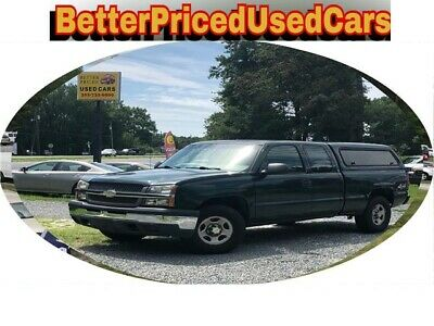 2004 Chevrolet Silverado 1500 Work Truck 2004 Chevrolet Silverado 1500 4X4 Quad Cab Fleet Maintained