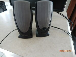 ALTEC  LANSING  STEREO SPEAKERS West Island Greater Montréal image 1