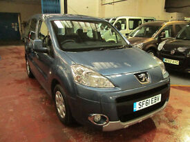 61 PEUGEOT PARTNER WHEELCHAIR ADAPTED 50 + ADAPTED VEHICLES IN STOCK