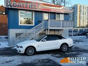 2012 Ford Mustang Premium Convertible **Leather/Heated Seats/Onl