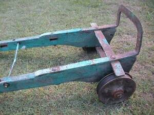 Vintage 1930's Metal and Wood Ttuck Dolly $170 Albion Brisbane North East Preview
