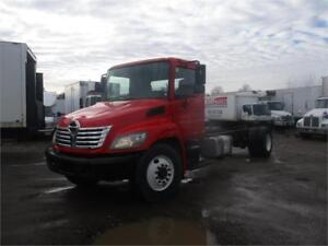 2010 Hino 268 Cab & Chassis For Sale
