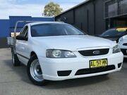 2006 Ford Falcon BF XL Ute Super Cab White 4 Speed Automatic Utility Kings Park Blacktown Area Preview