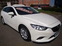14 MAZDA 6 D SE NAV DIESEL ESTATE 20 A YEAR ROAD TAX