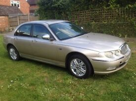 Rover 75 connoisseur with mot and full leather
