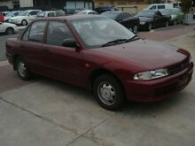 1995 Mitsubishi Lancer CC GL Red 3 Speed Automatic Sedan Somerton Park Holdfast Bay Preview