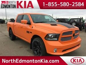 2017 Ram CrewCab 4x4 SPORT **5.7L HEMI** RARE ORANGE**