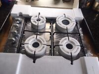 Built-in gas hob, still in box, never been used