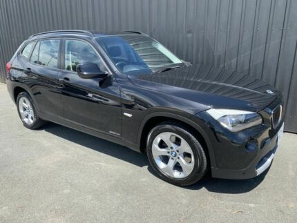 2012 BMW X1 E84 MY11 sDrive 18I Black 6 Speed Automatic Wagon Phillip Woden Valley Preview