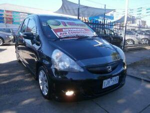 2008 Honda Jazz MY06 VTi-S Black 7 Speed CVT Auto Sequential Hatchback