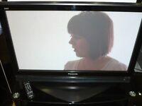 "Panasonic TH37PX70 37"" PLASMA TV . SECOND HAND, SOLD AS SEEN."