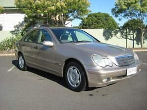 2001 Mercedes-Benz C180 W203 Classic 5 Speed Auto Tipshift Sedan Chermside Brisbane North East Preview