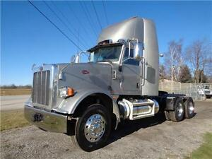2010 PETERBILT 367 HEAVY SPEC DAYCAB, WETLINE, 5 IN STOCK
