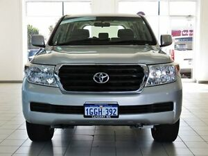 2011 Toyota Landcruiser UZJ200R 09 Upgrade GXL (4x4) Sparkling Silver 5 Speed Automatic Wagon Morley Bayswater Area Preview