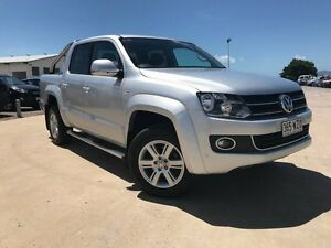 2012 Volkswagen Amarok 2H MY13 TDI420 4Motion Perm Silver 8 Speed Automatic Utility Garbutt Townsville City Preview