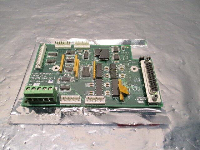 Asyst 3200-1171-01 SMT INX I/O Board, PCB, FAB 3000-1171-01, 100224