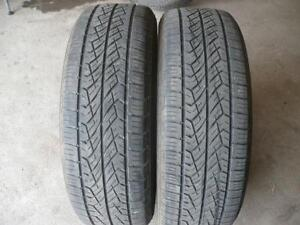 Two 226-65-17 tires $90.00