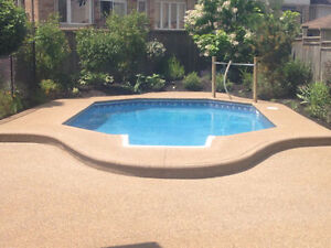 PATIOS, POOLS, SIDEWALKS, DRIVEWAYS...ALL YOUR CONCRETE NEEDS Oakville / Halton Region Toronto (GTA) image 2