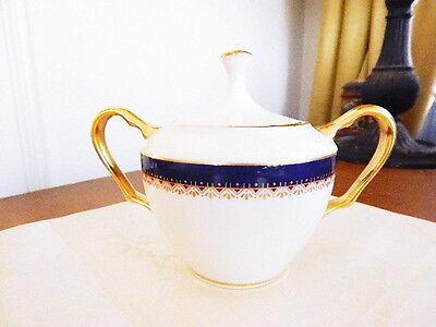Lenox China Covered Sugar Bowl (Lenox China JEFFERSON Covered Sugar Bowl - NICE!)