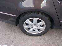 VW Passat x4 Alloy Wheels & Tyres 17inch Breaking For Parts (2006)