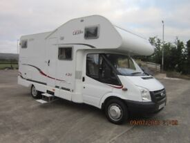2008 HYMER CORADO A241 4 BERTH TWIN BUNK MOTORHOME WITH ONLY 30K MILES ANDERSON MOTORHOME SALES