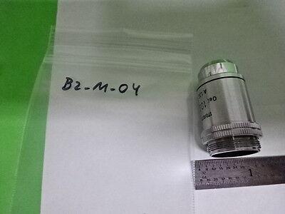 Microscope Part Vintage Objective Leitz 100x Germany Jena Optics As Is B2-m-04