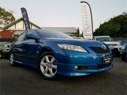 2006 Toyota Camry ACV40R Sportivo Blue 5 Speed Automatic Sedan Mount Hawthorn Vincent Area Preview