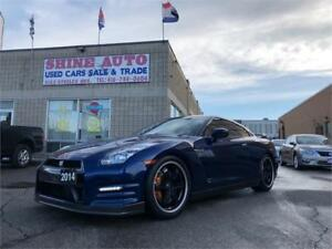 2014 Nissan GT-R BLACK EDITION-ACCIDENT FREE-NISSAN SERVICED