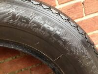Pair good matching 185*14 Commercial tyres, no damage, quick sale £25 pair