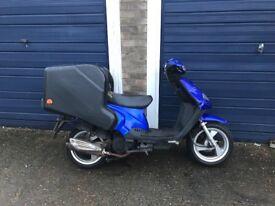 Tgb 125cc delivery bike moped scooter vespa honda piaggio yamaha gilera peugeot