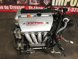 HONDA CRV TSX ELEMENT ACCORD 2.4L JDM K24A ENGINE ONLY FOR SALE