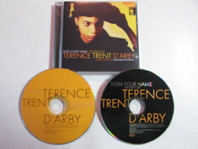 SIGN YOUR NAME: THE BEST OF TERENCE TRENT D'ARBY UK 2CD CONTEMPORARY R&B