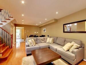 Beautiful 3 Bedroom Semi With Finished Walk-Out Basement