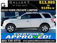 2010 Ford Escape Limited 4WD $129 bi-weekly APPLY NOW DRIVE NOW