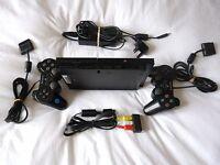 Sony PS2 /SonyPlaystation 2 Slim Black Console