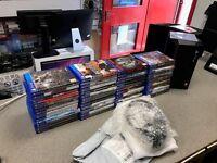 NEW Sony Playstation 4 Slim Console PS4 +COD Infinite Warfare & 50+ GAMES BUNDLE £550 !!